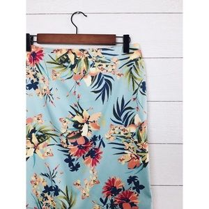 Talbots Skirts - Talbots | Tropical Floral Pencil Skirt